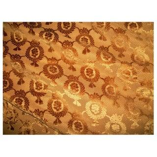 Antique 19th Century Hamot Floral Fabric