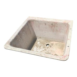 Cast Iron Antique Salvage Utility Sink