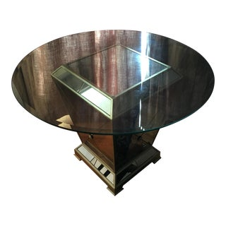 Z Gallerie Mirrored Table