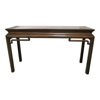 Baker Asian Style Console Table