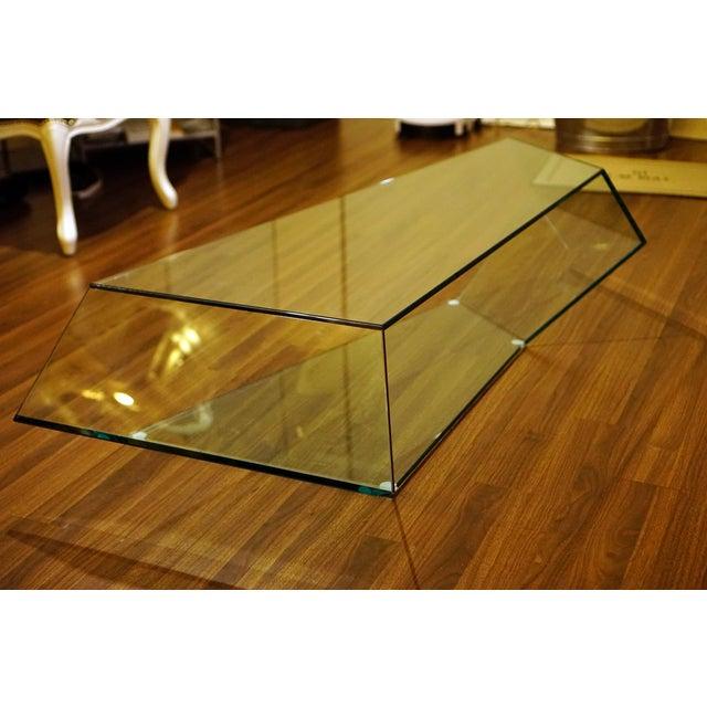 Tonelli Dekon 2 Geometric Glass Coffee Table - Image 2 of 4