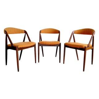 Model31 Kai Kristiansen Rosewood Chairs - Set of 3