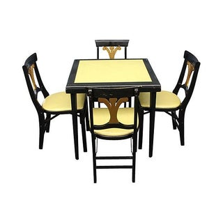 Stakmore French Quarter Style Game Table & Chairs