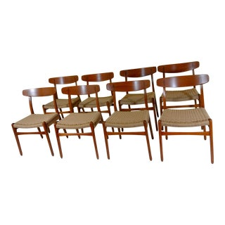 Hans Wegner Dining Chairs - Set of 8