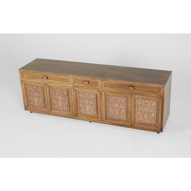Maurice Bailey for Monteverdi-Young Carved Credenza - Image 5 of 5