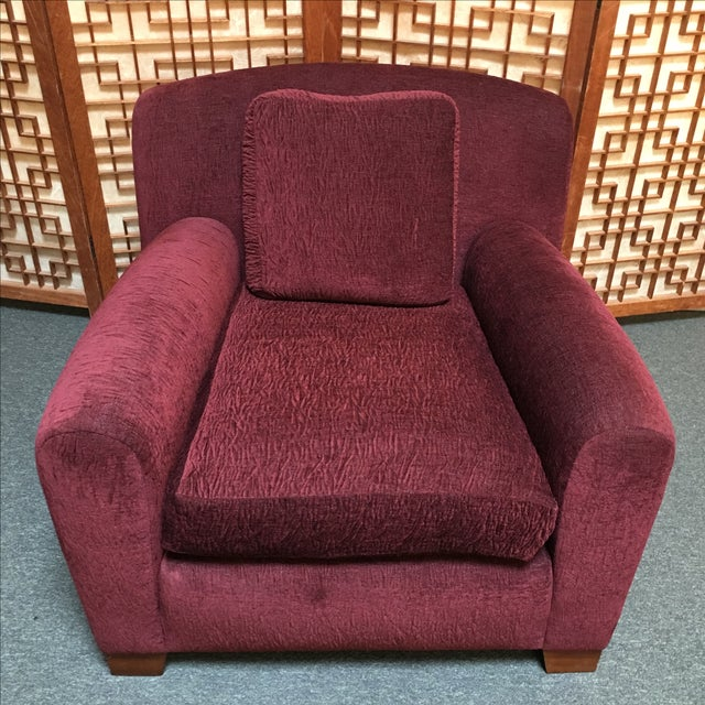 Image of Pair of Custom Donghia Upholstered Armchair