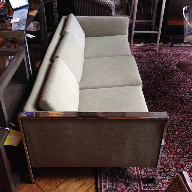 Mid-Century Milo Baughman Sofa - Image 6 of 11