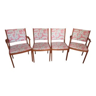 Set of Four, Brdr Furbo Dining Chairs