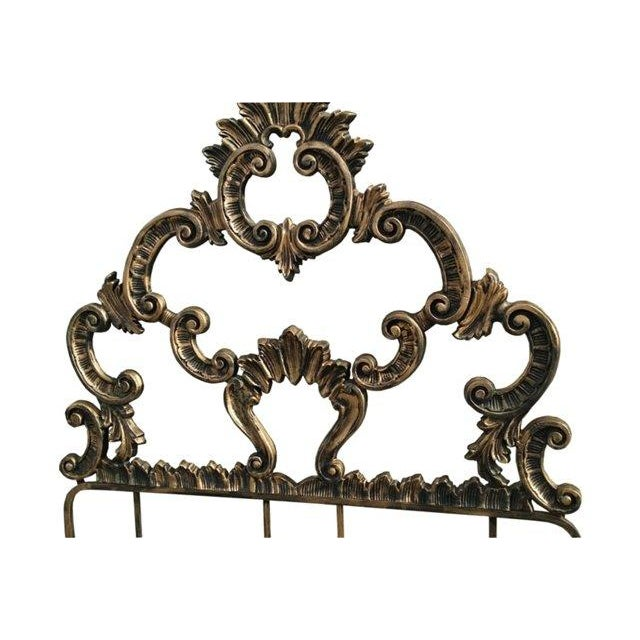 Image of Twin French Rococo Hollywood Regency Headboard - 2