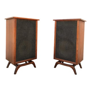 Mid-Century Danish Speakers - A Pair