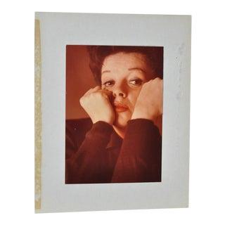 Judy Garland Color Photograph c.1950