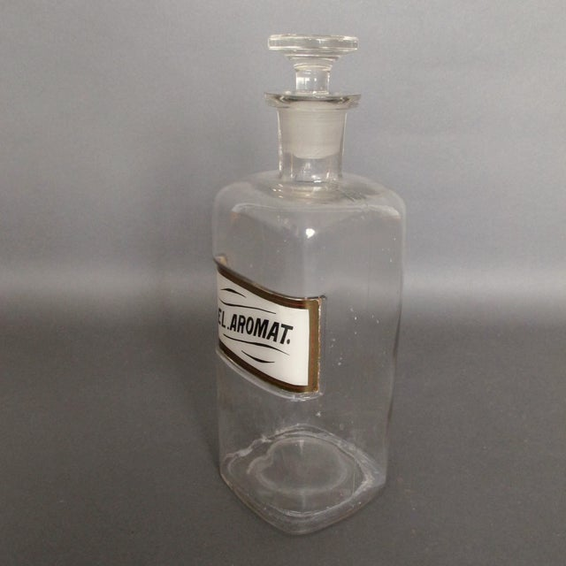 Antique Labeled Apothecary Bottle - Image 7 of 9