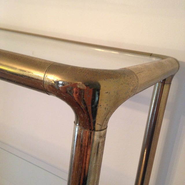 Brass Etagere in the Manner of John Widdicomb - Image 4 of 9