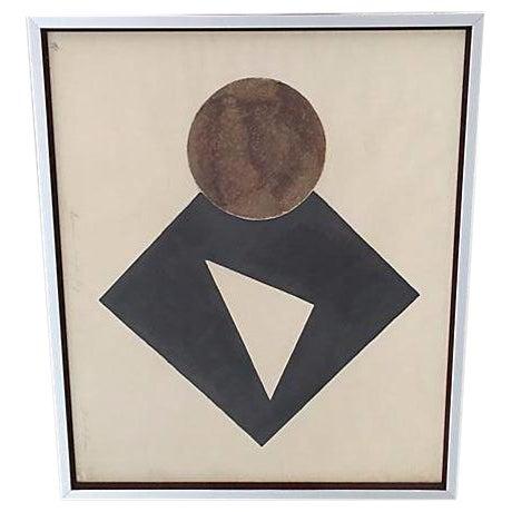 Image of S. Green Mid-Century Modern Artist Proof Serigraph