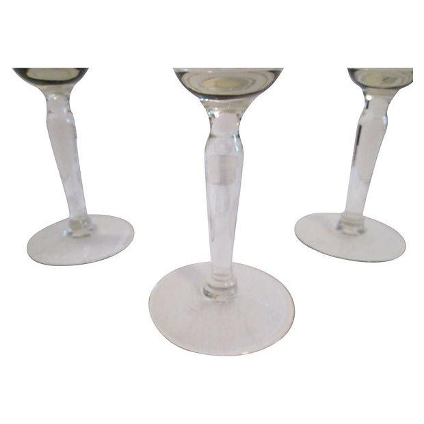 Image of Gold Banded Cocktail Glasses - Set of 4