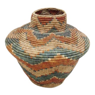 Bohemian Pakistan Floor Basket