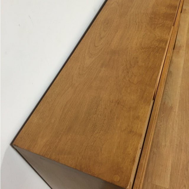 Image of Russel Wright for Conant Ball Maple Full Headboard
