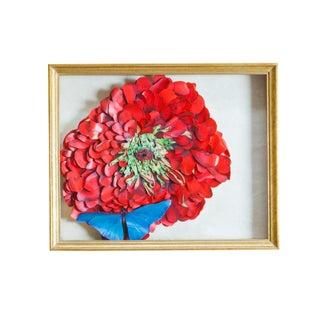 Maria Jareau Heller Flower & Butterfly Wall Art