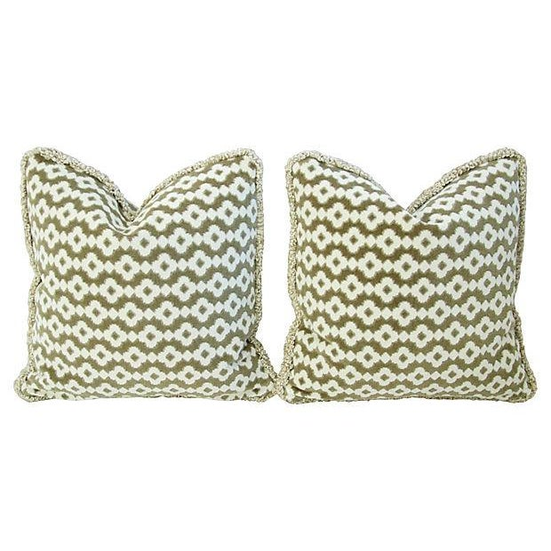 Image of French Manuel Canovas Saint Remy Pillows - A Pair