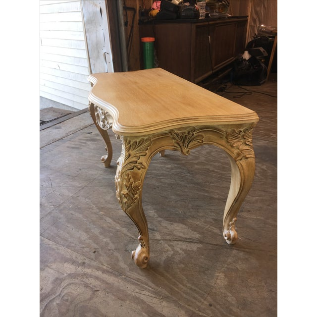 Italian Carved Wood Console Table - Image 11 of 11