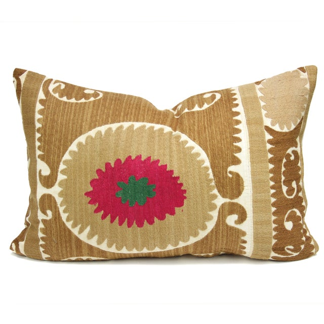 Image of Vintage Suzani Rosada Pillow