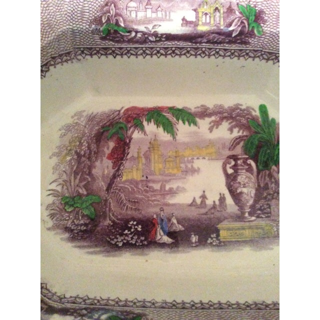 Antique C &W.K. Harvey Ailanthus Ironstone Transferware - Image 5 of 8