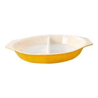 Yellow Pyrex Bakeware Dish