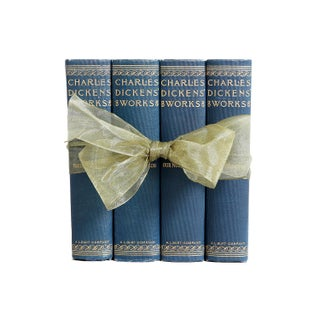 Dickens Teal Green Gift Set - S/4