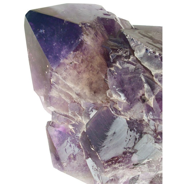 Image of Huge Polished Natural Amethyst Formation