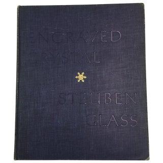 Vintage 1961 'Engraved Crystal Steuben Glass' Book
