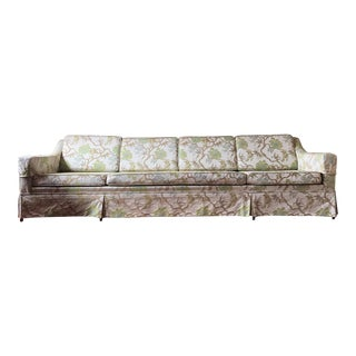 Mid-Century Modern Floral Couch