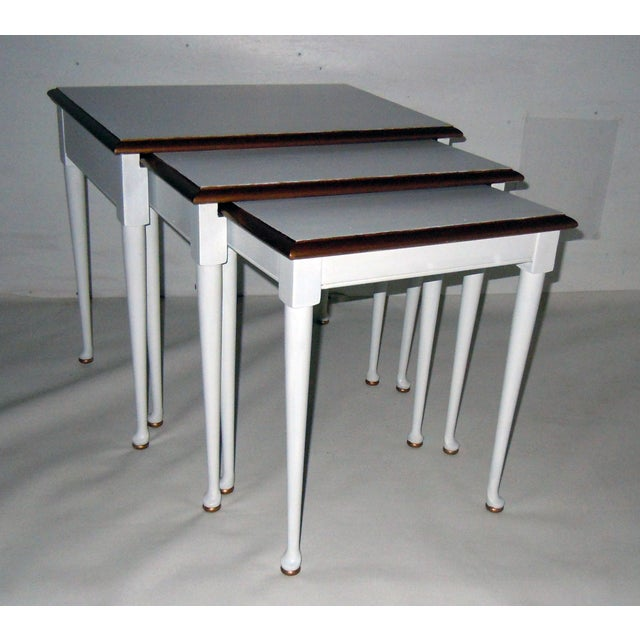Mid-Century Nesting Tables - Set of 3 - Image 7 of 7