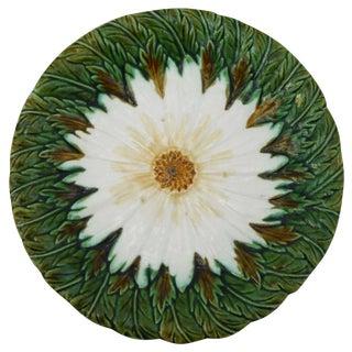 Majolica Daisy Plate
