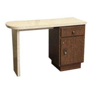 Counter Style Veneer & Wood Desk