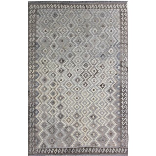 Hand Knotted Modern Kilim by Aara Rugs - 6′10″ × 9′5″
