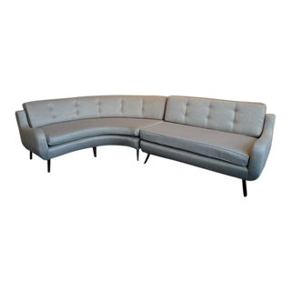 Rare Two-Piece Sectional Sofa by Ernst Schwadron