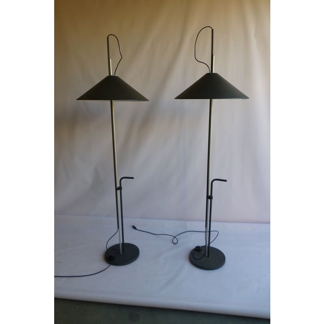 Artemide Lamps by E. Mari & G. Fassina - A Pair - Image 2 of 8