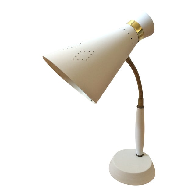 Mid-Century Bullet Lamp - Image 1 of 8