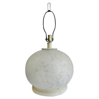 Overscale Murano Glass Table Lamp