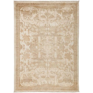 """Shalimar, Hand Knotted Area Rug - 6' 2"""" x 8' 5"""""""