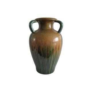 Art Nouveau Ceramic Floor Vase