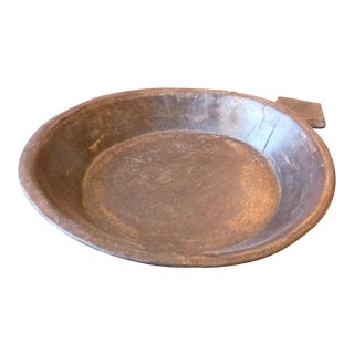 Primitive Wood Decorative Bowl