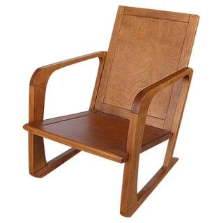 KEM Weber Art Deco Armchair for Mueller