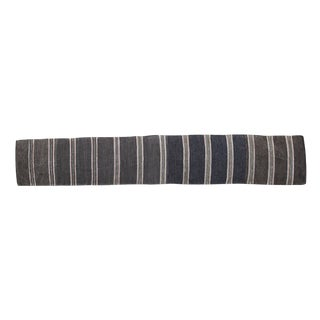 Swedish Handwoven Striped Rug - 2′1″ × 9′7″