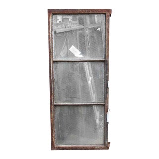 Encasement Window Chicken Wire Glass Panels