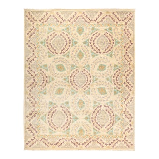 """Suzani Hand Knotted Area Rug - 8' 0"""" X 10' 1"""""""