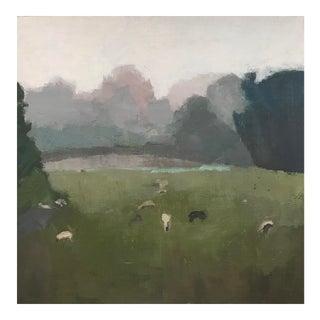 Sheep in Fog