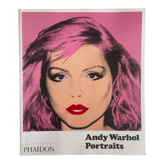 """Andy Warhol Portraits"" Oversized Iconic Collector's Art Book"