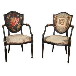 Pair of Elegant Armchairs