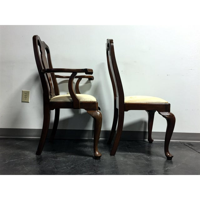 Henkel Harris Solid Mahogany Dining Chairs Set Of 8